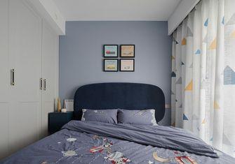 90平米三室两厅现代简约风格卧室图