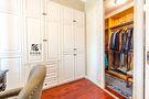 130平米三室两厅田园风格衣帽间装修图片大全