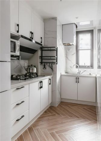 90平米日式风格厨房设计图