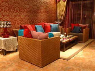 3-5万70平米一室一厅东南亚风格客厅设计图