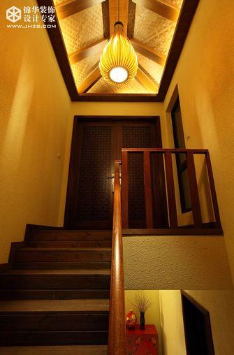 20万以上140平米别墅东南亚风格楼梯图片