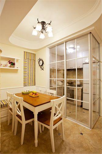 80平米一室一厅地中海风格餐厅图片