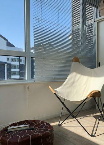 60平米一居室北欧风格阳台图片