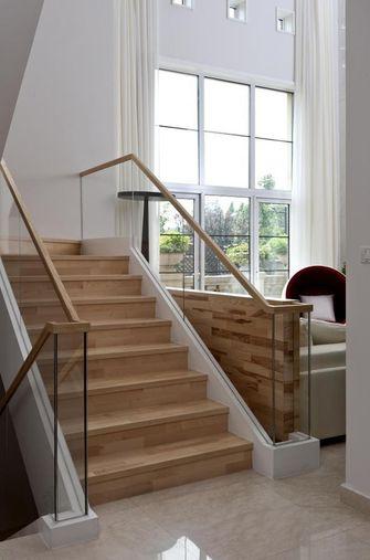豪华型140平米别墅混搭风格楼梯图片大全