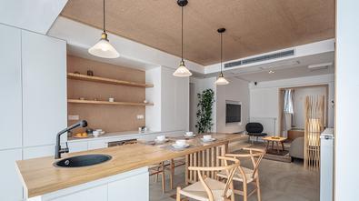 120平米三室两厅日式风格餐厅效果图