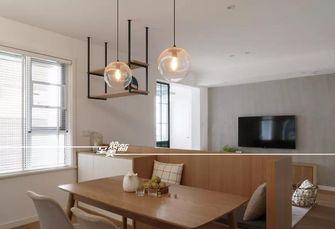 80平米三室三厅日式风格餐厅装修案例