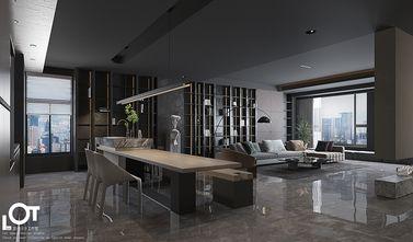 140平米四室三厅混搭风格餐厅设计图