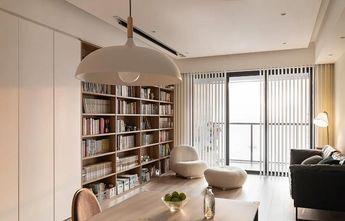 130平米三现代简约风格客厅设计图