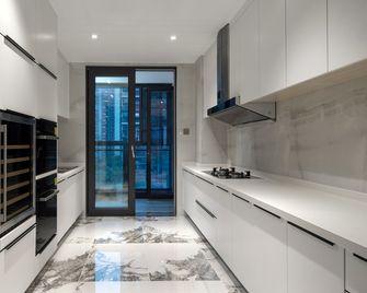 140平米三室一厅英伦风格厨房图片大全