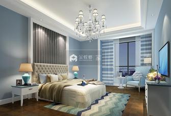 富裕型80平米地中海风格卧室图片大全