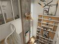 20万以上140平米北欧风格楼梯效果图