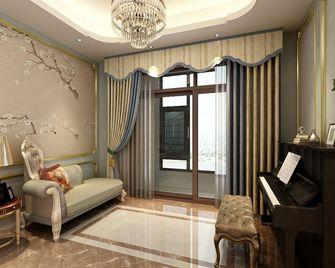 140平米四室一厅新古典风格影音室装修案例