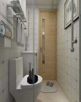 120平米三室两厅日式风格卫生间浴室柜装修图片大全