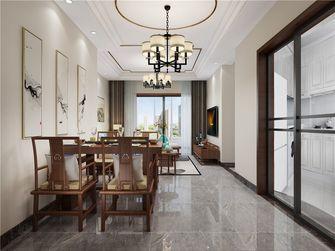 80平米三中式风格餐厅装修案例
