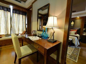90平米东南亚风格书房设计图