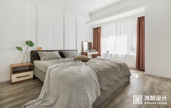 110平米现代简约风格卧室图片大全
