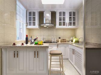 90平米现代简约风格厨房橱柜设计图