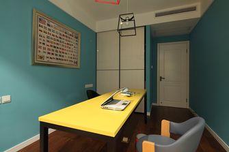 130平米三室两厅混搭风格书房装修图片大全