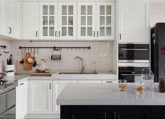 130平米三室三厅美式风格厨房效果图