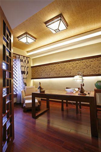 经济型100平米四室三厅东南亚风格书房图