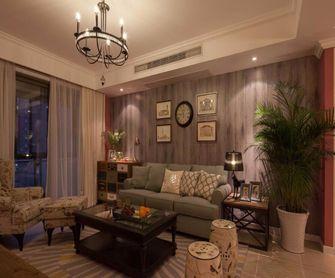 90平米三室两厅田园风格客厅欣赏图