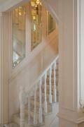 140平米四室一厅法式风格楼梯间装修效果图