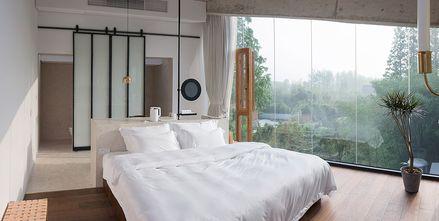 140平米别墅田园风格卧室设计图