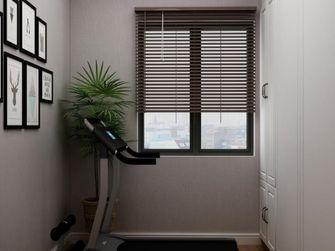 80平米三室一厅北欧风格健身室图片大全