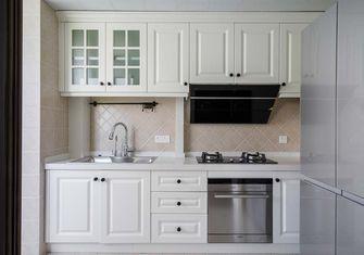 110平米三室五厅美式风格厨房装修案例