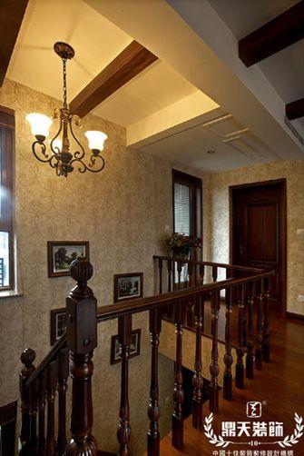 20万以上140平米复式新古典风格楼梯效果图
