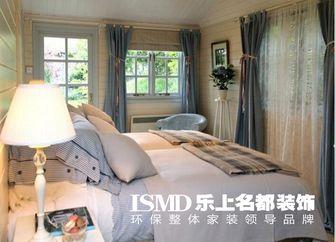 3-5万50平米一室一厅田园风格卧室设计图