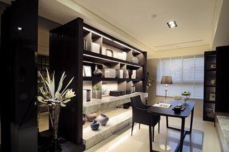 120平米三室两厅现代简约风格书房图片