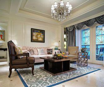 140平米三美式风格客厅装修效果图