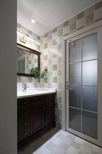 100平米三室一厅美式风格卫生间欣赏图