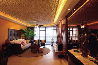 100平米东南亚风格客厅效果图