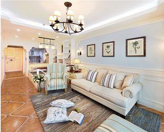 70平米一室两厅美式风格客厅装修图片大全