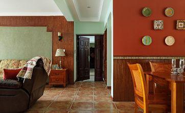 110平米三室两厅东南亚风格走廊欣赏图