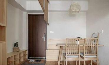 60平米日式风格餐厅装修效果图