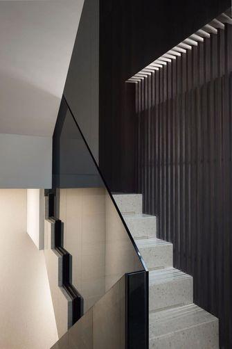 100平米三新古典风格楼梯间图片大全