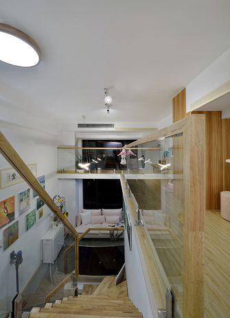 50平米复式日式风格楼梯间装修案例
