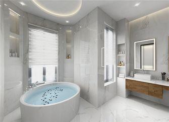140平米三室三厅现代简约风格卫生间设计图