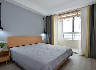 100平米三室一厅日式风格卧室装修效果图