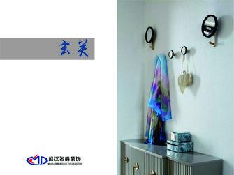 富裕型100平米三室两厅其他风格玄关图片
