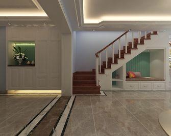 140平米四室三厅法式风格楼梯间效果图