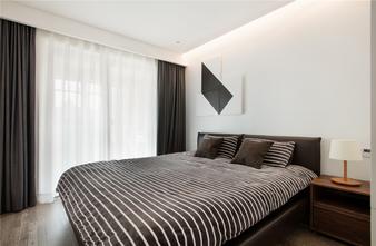 80平米一室两厅现代简约风格卧室图片
