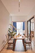 80平米一室一厅日式风格餐厅欣赏图
