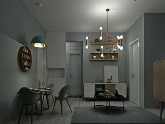 60平米一居室现代简约风格客厅图