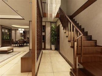 富裕型140平米别墅日式风格楼梯装修案例