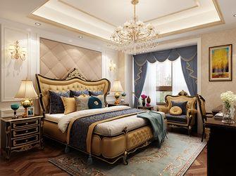 140平米三室三厅欧式风格卧室装修图片大全