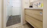 130平米三室两厅田园风格卫生间装修效果图